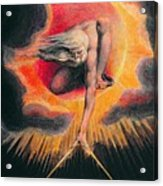 The Ancient Of Days Acrylic Print by William Blake