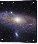 The Andromeda Galaxy Acrylic Print by Robert Gendler