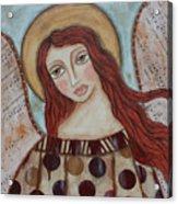The Angel Of Hope Acrylic Print by Rain Ririn