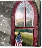 The Attic Window Acrylic Print by John  Williams