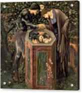 The Baleful Head Acrylic Print by Sir Edward Burne-Jones