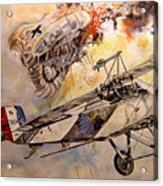 The Balloon Buster Acrylic Print by Marc Stewart