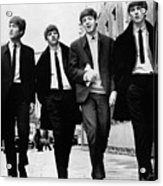 The Beatles Acrylic Print by Granger