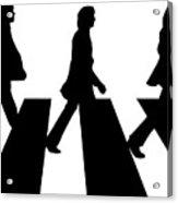 The Beatles No.02 Acrylic Print by Caio Caldas