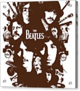 The Beatles No.15 Acrylic Print by Unknow