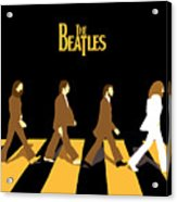 The Beatles No.19 Acrylic Print by Caio Caldas