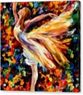 The Beauty Of Dance Acrylic Print by Leonid Afremov