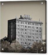 The Bethlehem Hotel Acrylic Print by Bill Cannon