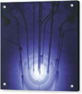 The Blue Glow Of Nuclear Reactors Acrylic Print by Everett