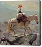 The Bridal Path Acrylic Print by Winslow Homer