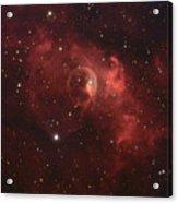 The Bubble Nebula Acrylic Print by Charles Warren