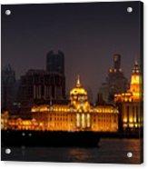 The Bund - More Than Shanghai's Most Beautiful Landmark Acrylic Print by Christine Till
