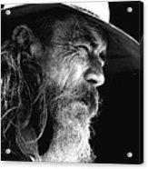 The Bushman Acrylic Print by Avalon Fine Art Photography