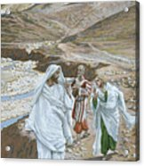 The Calling Of St. Andrew And St. John Acrylic Print by Tissot