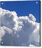 The Cloud Acrylic Print by Kaye Menner