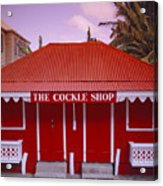 The Cockle Shop Acrylic Print by Shaun Higson