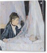 The Cradle Acrylic Print by Berthe Morisot