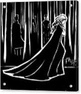 the Dark Forest Acrylic Print by Rachel H White