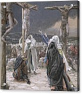 The Death Of Jesus Acrylic Print by Tissot