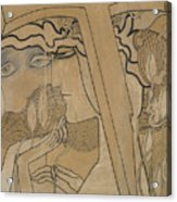 The Desire And The Satisfaction Acrylic Print by Jan Theodore Toorop