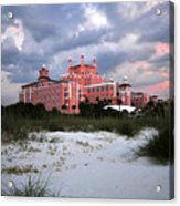 The Don Cesar Acrylic Print by David Lee Thompson