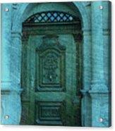 The Door To The Secret Acrylic Print by Susanne Van Hulst