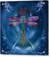 The Dragonfly Effect Acrylic Print by Bedros Awak