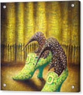 The Emerald Ships Acrylic Print by Lolita Bronzini