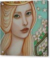 The Empress Acrylic Print by Tammy Mae Moon