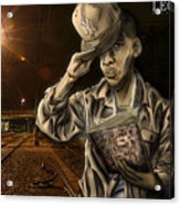 The Essence Of The Streets Acrylic Print by Tuan HollaBack