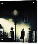 The Exorcist, Poster Art, 1973 Acrylic Print by Everett