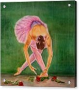 The Finale Acrylic Print by Bonnie Schallermeir