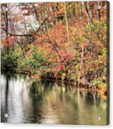 The Fishing Spot Acrylic Print by JC Findley