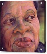 The Gaze Of Mother Witt Acrylic Print by Curtis James