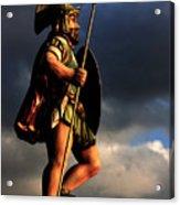 The Gladiator Acrylic Print by Barbara  White