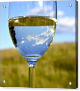 The Glass Is Half Full Acrylic Print by Thomas R Fletcher