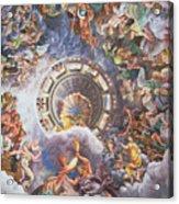 The Gods Of Olympus Acrylic Print by Giulio Romano