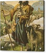 The Good Shepherd Acrylic Print by English School