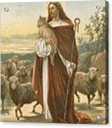 The Good Shepherd Acrylic Print by John Lawson