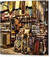 The Grand Bazaar In Istanbul Turkey Acrylic Print by David Smith