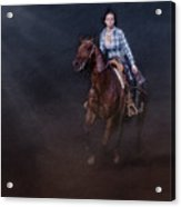The Great Escape Acrylic Print by Susan Candelario