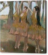 The Greek Dance Acrylic Print by Edgar Degas