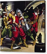 The Gunpowder Plot Acrylic Print by Ron Embleton