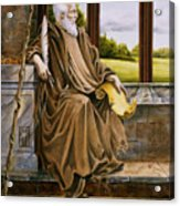 The Hermit Nascien Acrylic Print by Melissa A Benson