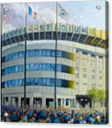 The House That Steinbrenner Wrecked Opening Day  Acrylic Print by Gregg Hinlicky
