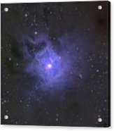 The Iris Nebula Acrylic Print by Ken Crawford