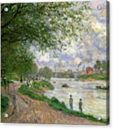 The Island Of La Grande Jatte Acrylic Print by Claude Monet