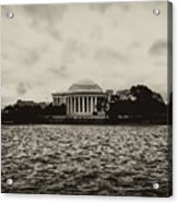 The Jefferson Memorial Acrylic Print by Bill Cannon