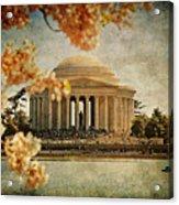 The Jefferson Memorial Acrylic Print by Lois Bryan