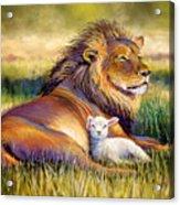 The Kingdom Of Heaven Acrylic Print by Susan Jenkins